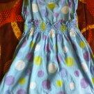 Healthtex toddler girl's blue short sleveless dress size 4T