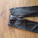 Greendog toddler girl's black waistband pant size 4T