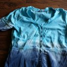 Izod girls blue short sleeve shirt size medium