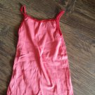 Faded Glory girls red tank jacket set size 10-12