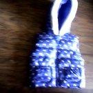 Gymbroee girl's purple dots hooded vest size 4t-5t