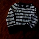 Faded Glory girls surfure striped long seleeve kniited sweater 4t-5t