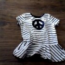 Garanimals toddler girl's black and white strpied top size 5t