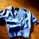 Toddler girl's blue 1/2 sleeve jacket shirt size xs