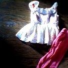 Toddler girl's crochet lace tunic legging set xs (4t-5t)