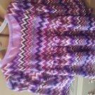 Nannette girls purple 1/3 sleeve shirt 6t