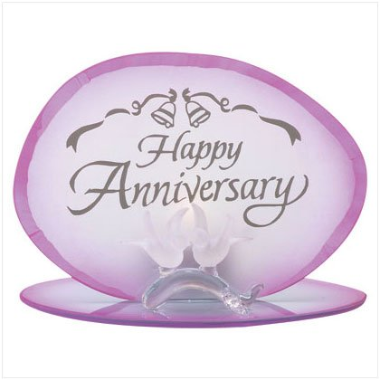 Happy Anniversary Candleholder