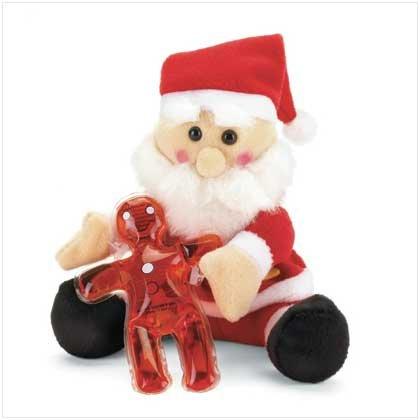 Santa Christmas Plush with Shower Gel