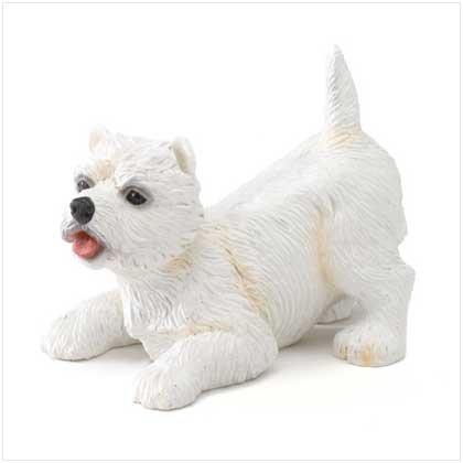 West Highland Terrier Puppy Figurine