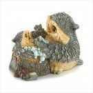 Mother and Baby Owl Bathtime Figurine