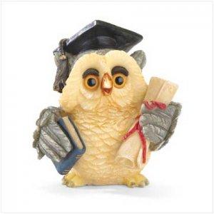 Graduation Owl Figurine
