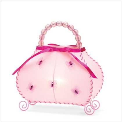 Butterfly Handbag Night Light