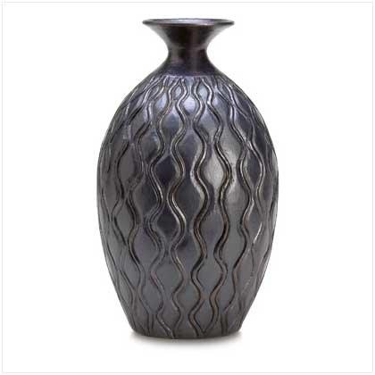 """Black """"Monaco"""" Vase"""