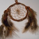 Handmade Grapevine Dreamcatcher Sinew Native American Art Decoration Ornament 1