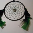 DreamCatcher Mandella Handcrafted Native Amercian Art Sinew Feather 81