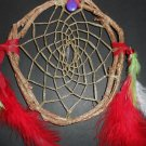 Hand Made Dreamcatcher Christmas Wreath Grapevine Native American art OOAK 10