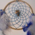 Dreamcatcher 5 Inch Gold Mandella Native Art Feather Sinew Valentine Gift 7