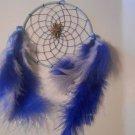 Dreamcatcher 5 Inch Mandella Handcrafted Native Art Feather Sinew Valentine Gift