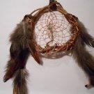 HandMade Dreamcatcher Grapevine Native Art Sinew Feathers Decoration Mandella 5
