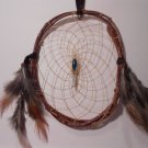 HandMade Dreamcatcher Grapevine Native American OOAK Decoration Sinew Feather