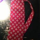 perry ellis portfolio tie one size red new