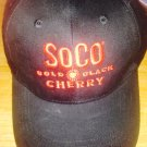 southern comfort cherry black baseball cap