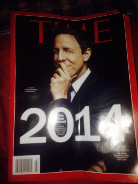 time magazine 2014 seth meyers