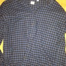 uniqlo dark blue dress shirt size l new