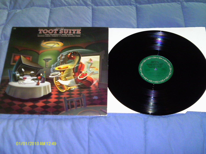 claude bolling toot suite vinyl-lp 1981