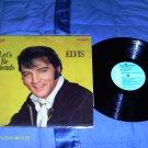 Elvis Presley Let's be Friends Vinyl LP 12''