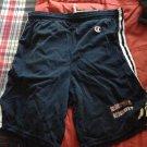 boston university black & red shorts size M