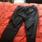 boston university sweatpants size M grey