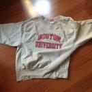 boston university sweatshirt size L