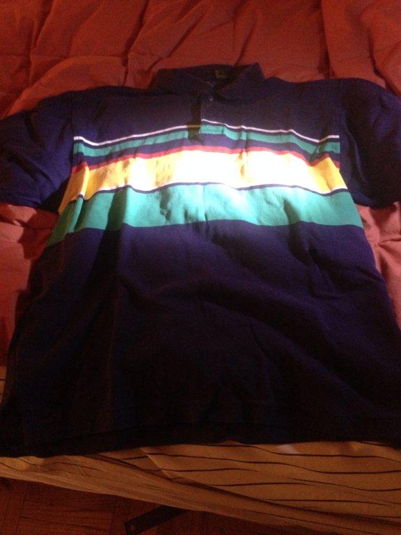 Club room short sleeve dress shirt size M