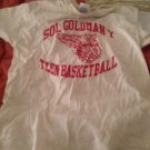 Gildan heavy cotton bball shirt size L