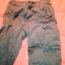 Jcrew green winter pants 32x32