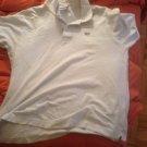 Lacoste white shirt size 6L