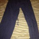 Nautica blue pajama bottoms size M