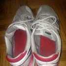 nike red athletic sneakers size 11