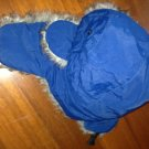 North Face blue winter hat