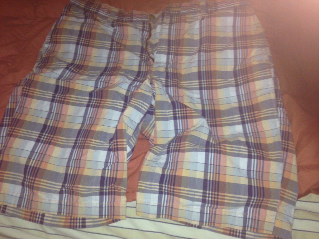 Uniqlo plaid shorts size 30x33