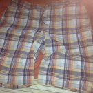 Uniqlo plaid shorts size 30x33
