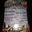 chicago riot fest 2009 flyer