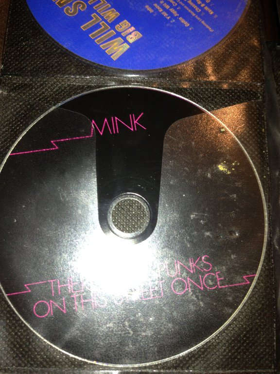 mink there were punks on this street once 2007 cd