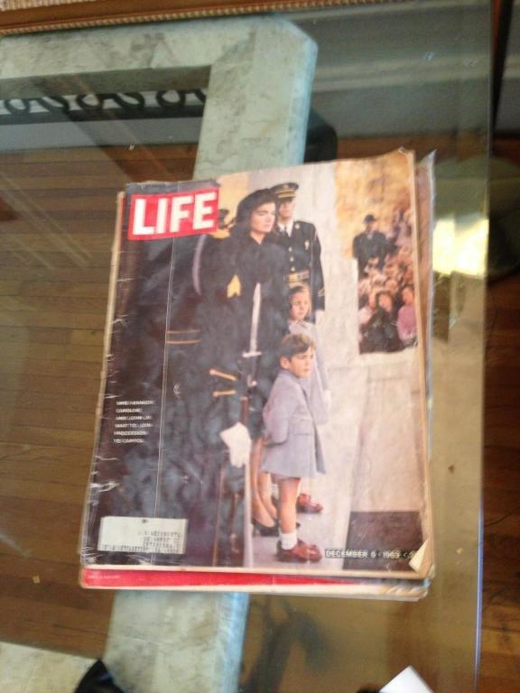 life magazine dec 1963 JFK original magazine