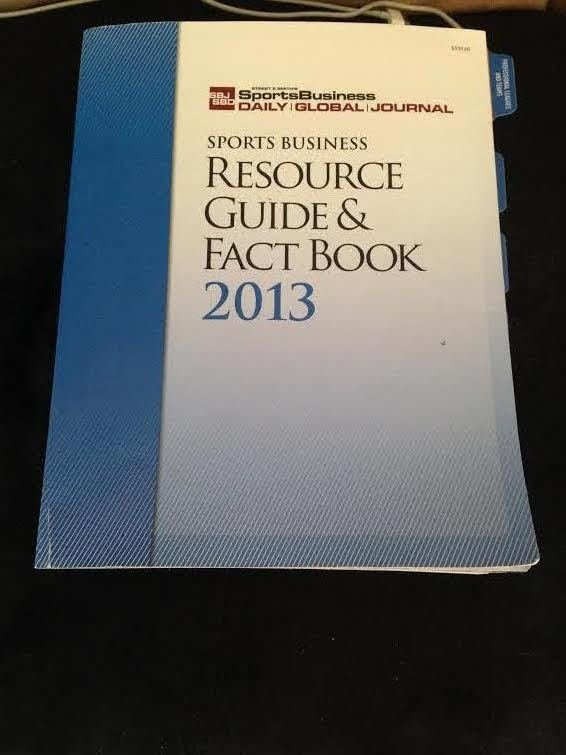 sports business resource guide and fact book 2013 new