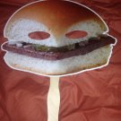 White Castle burger stick mask