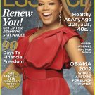 essence magazine january 2012, vol. 42 no. 9- queen latifah