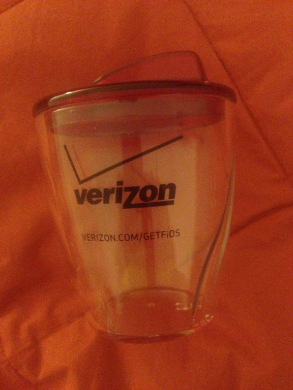 Verizon Fios twist cup 12oz