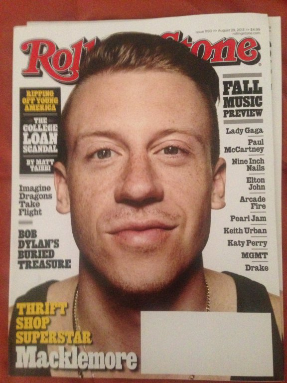 rolling stone magazine macklemore cover 2013